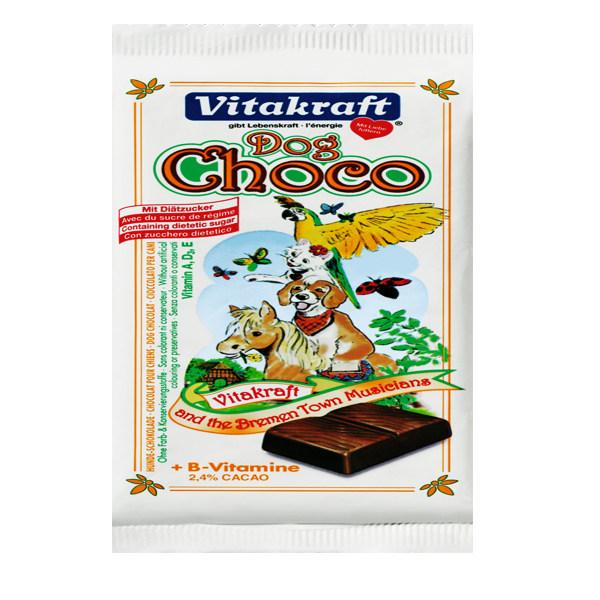 اسنک تشویقی سگ ویتاکرافت مدل Dog choco کد 23060 وزن 100 گرم
