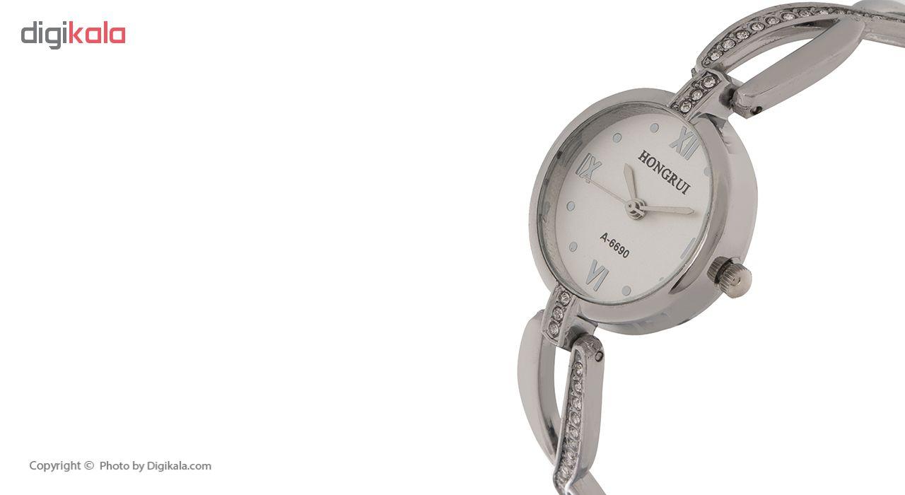 ساعت مچی عقربه ای زنانه هانگروی کد A-6690