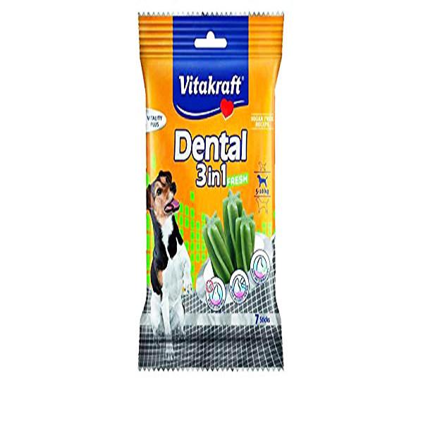 دنتال سگ ویتاکرافت مدل Fresh Small کد 30891 وزن 120 گرم