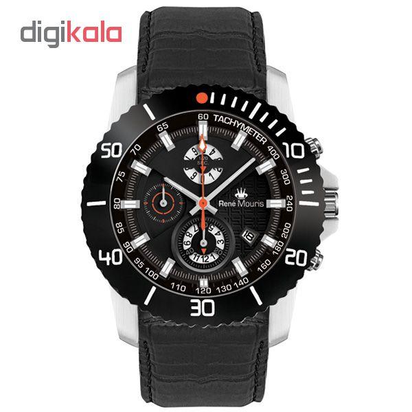 خرید ساعت مچی عقربه ای مردانه رنه موریس مدل L.I.F.L 90113 RM3