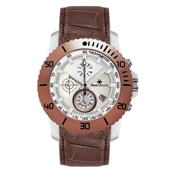 کد تخفیف                                       ساعت مچی عقربه ای مردانه رنه موریس مدل L.I.F.L 90113 RM6