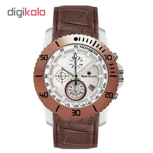 خرید ساعت مچی عقربه ای مردانه رنه موریس مدل L.I.F.L 90113 RM6 | ساعت مچی