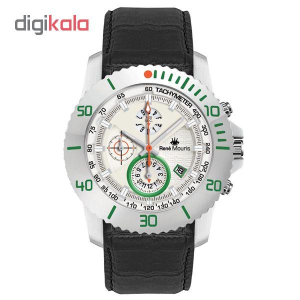 ساعت مچی عقربه ای مردانه رنه موریس مدل L.I.F.L 90113 RM9