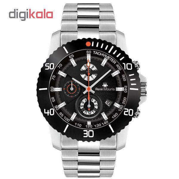 ساعت مچی عقربه ای مردانه رنه موریس مدل L.I.F.L 90114 RM3