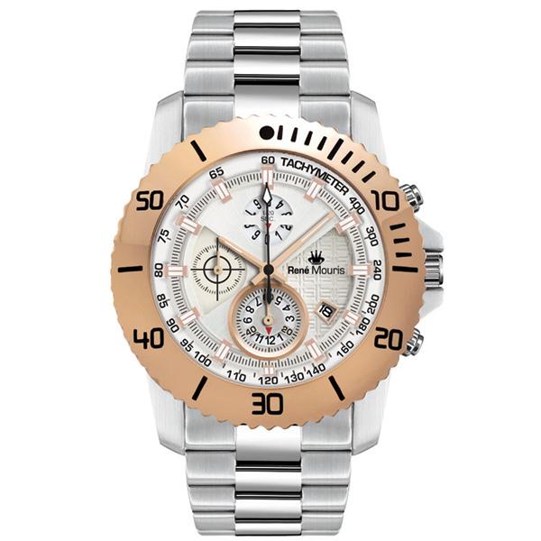 ساعت مچی عقربه ای مردانه رنه موریس مدل L.I.F.L 90114 RM4