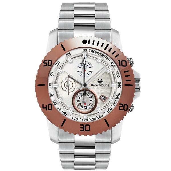 کد تخفیف                                      ساعت مچی عقربه ای مردانه رنه موریس مدل L.I.F.L 90114 RM6