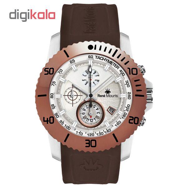 خرید ساعت مچی عقربه ای مردانه رنه موریس مدل L.I.F.L 90115 RM6