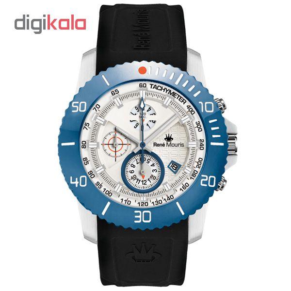 ساعت مچی عقربه ای مردانه رنه موریس مدل L.I.F.L 90115 RM7