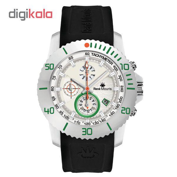 خرید ساعت مچی عقربه ای مردانه رنه موریس مدل L.I.F.L 90115 RM9