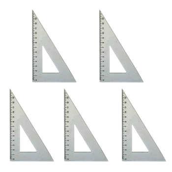 گونیا 60 درجه کد G6 سایز 15 سانتی متر بسته 5 عددی