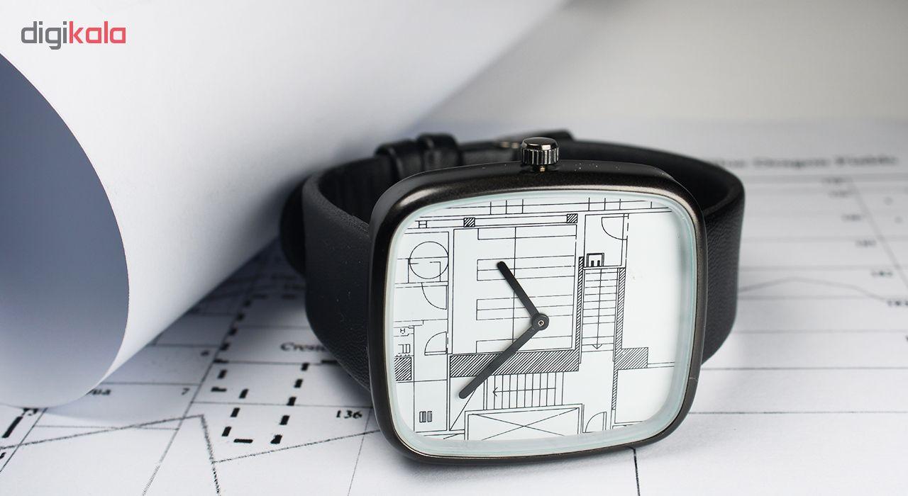 ساعت مچی عقربه ای مردانه و زنانه مدل Mat-03