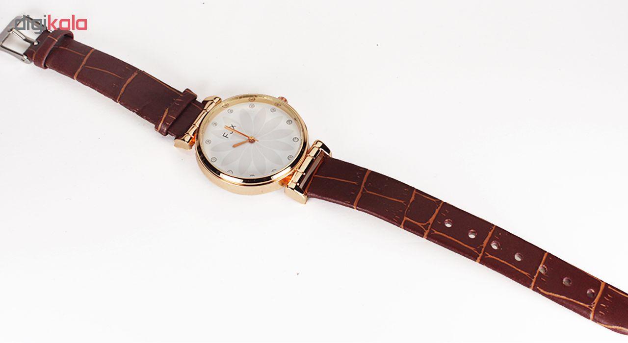 ساعت مچی عقربه ای زنانه اف جی ایکس مدل P5-28