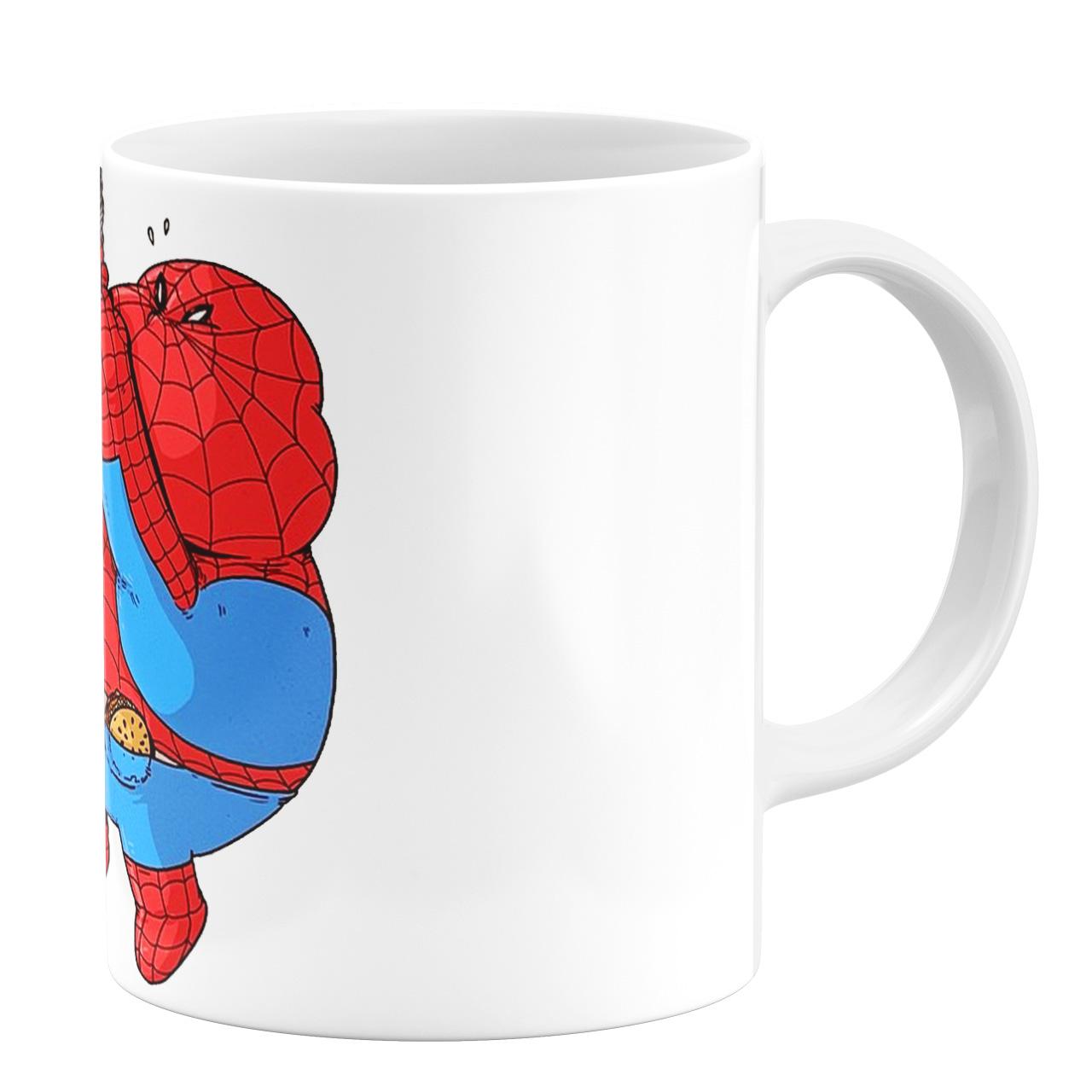 عکس ماگ طرح مرد عنکبوتی کد 9819