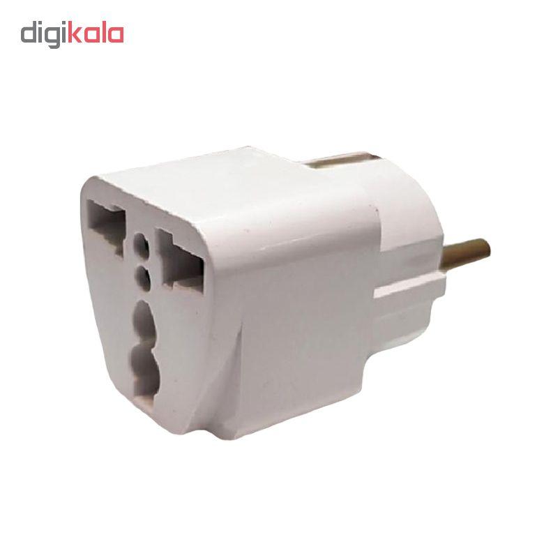 خرید اینترنتی مبدل برق 3 به 2 مدل M01 اورجینال