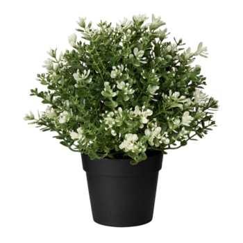 گلدان به همراه گل مصنوعی ایکیا مدل Fejka _ 90375155
