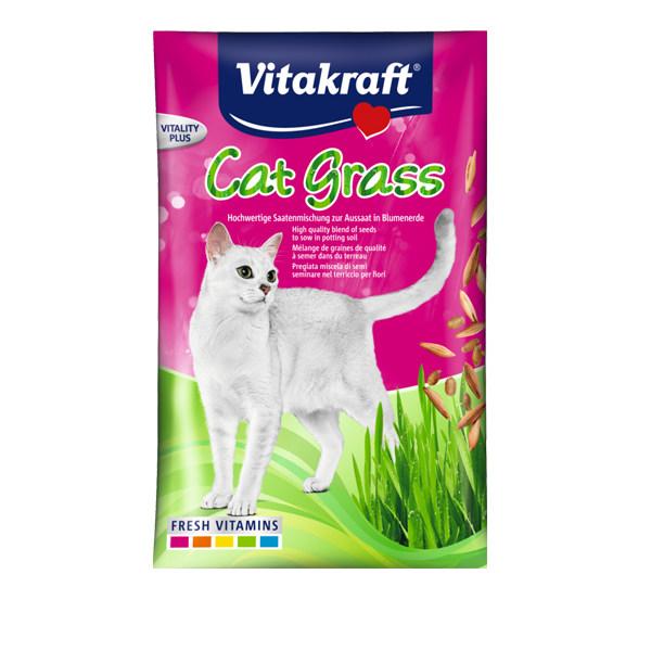 غذای گربه ویتاکرافت مدل seed bag کد ۲۴۰۲۷ وزن ۵۰ گرم