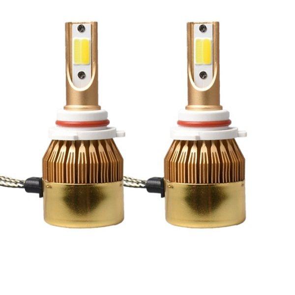 لامپ خودرو  3 رنگ مدل 9005 بسته 2 عددی