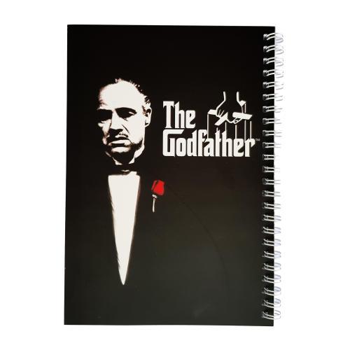دفتر یادداشت طرح the godfather مدل BSB-00604