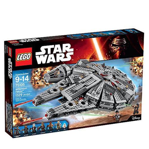 لگو سری Star Wars مدل Millennium Falcon کد 75105