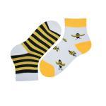 جوراب دخترانه طرح زنبور مدل bee34 thumb