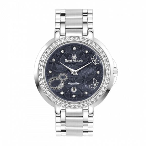 ساعت مچی عقربه ای زنانه رنه موریس مدل Papillon 50111 RM1 14