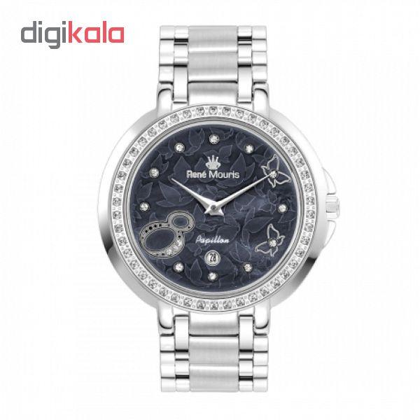 ساعت مچی عقربه ای زنانه رنه موریس مدل Papillon 50111 RM1