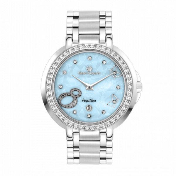 ساعت مچی عقربه ای زنانه رنه موریس مدل Papillon 50111 RM3