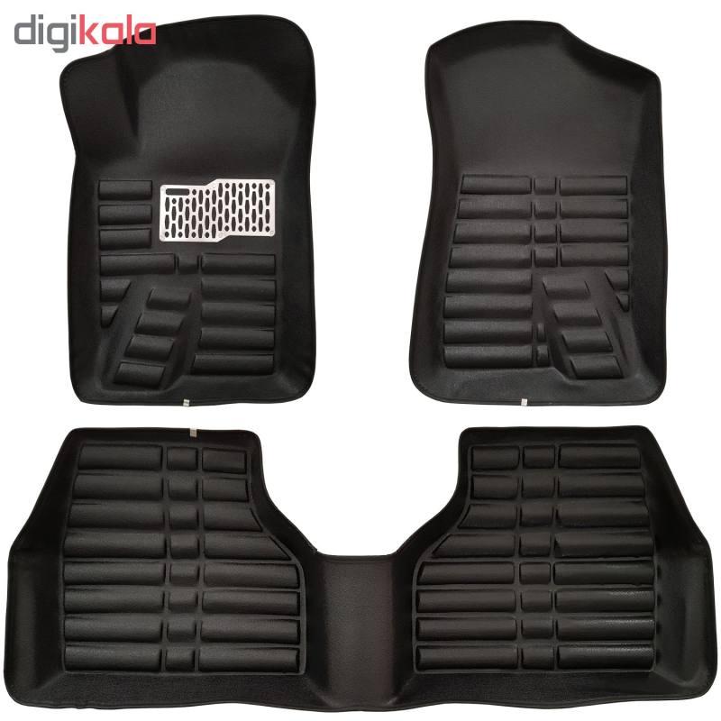 کفپوش سه بعدی ( پلی اورتان ) خودرو مناسب برای پژو 405 ، پژو پارس و سمند thumb 4