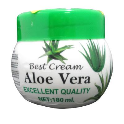 کرم مرطوب کننده مدل Aloe Vera حجم 180 میلی لیتر