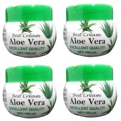 کرم مرطوب کننده مدل Aloe Vera حجم 180 میلی لیتر بسته 4 عددی