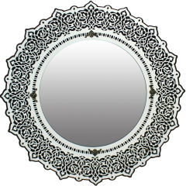 آینه دست نگار طرح شمسه کد 01-21