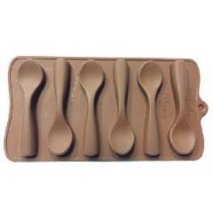 قالب شکلات طرح قاشق
