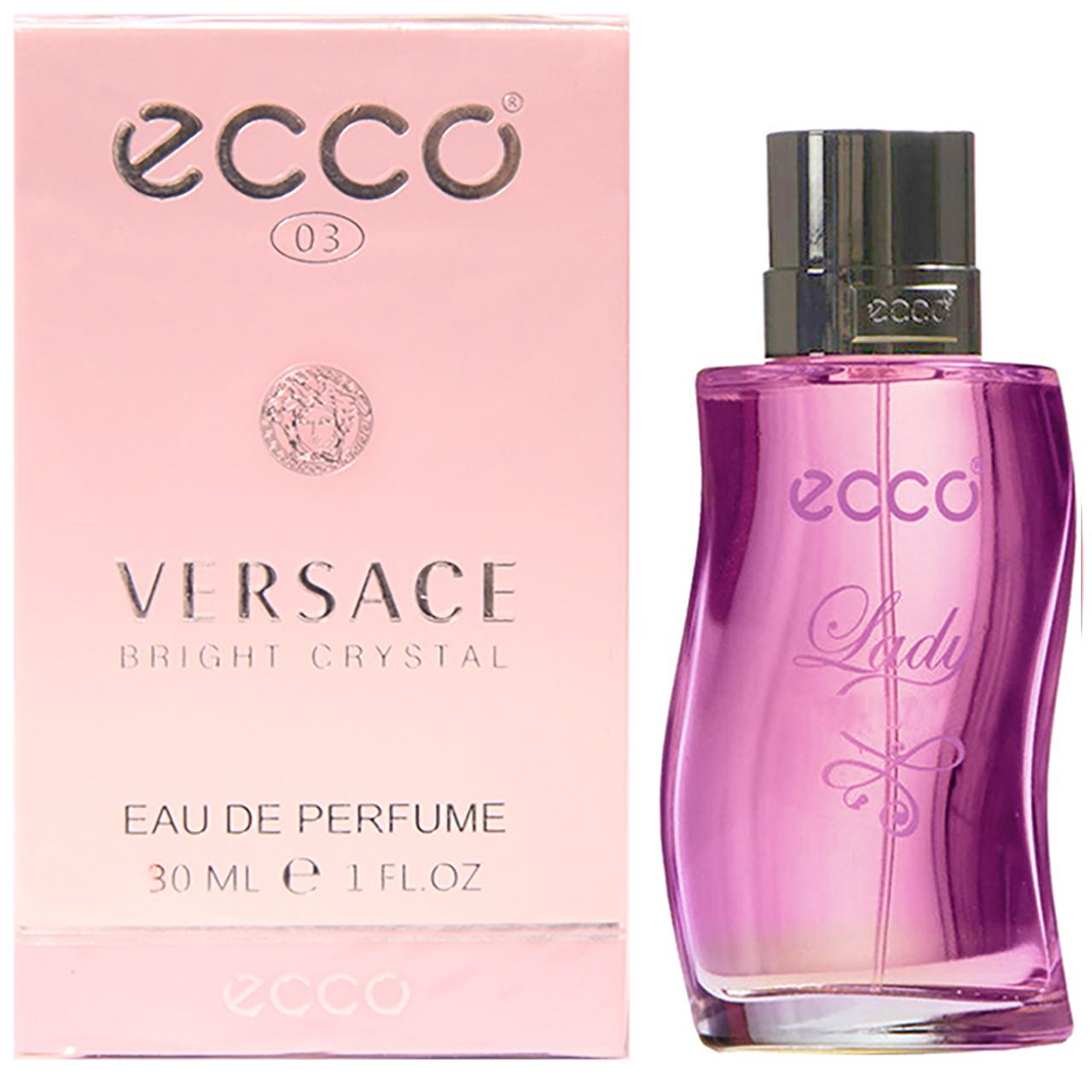 ادوپرفیوم زنانه اکو مدل Versace Bright Crystal حجم 30 میلی لیتر
