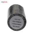 ریبون پرینتر لیبل زن مدل Wax 110mm x 300m thumb 2