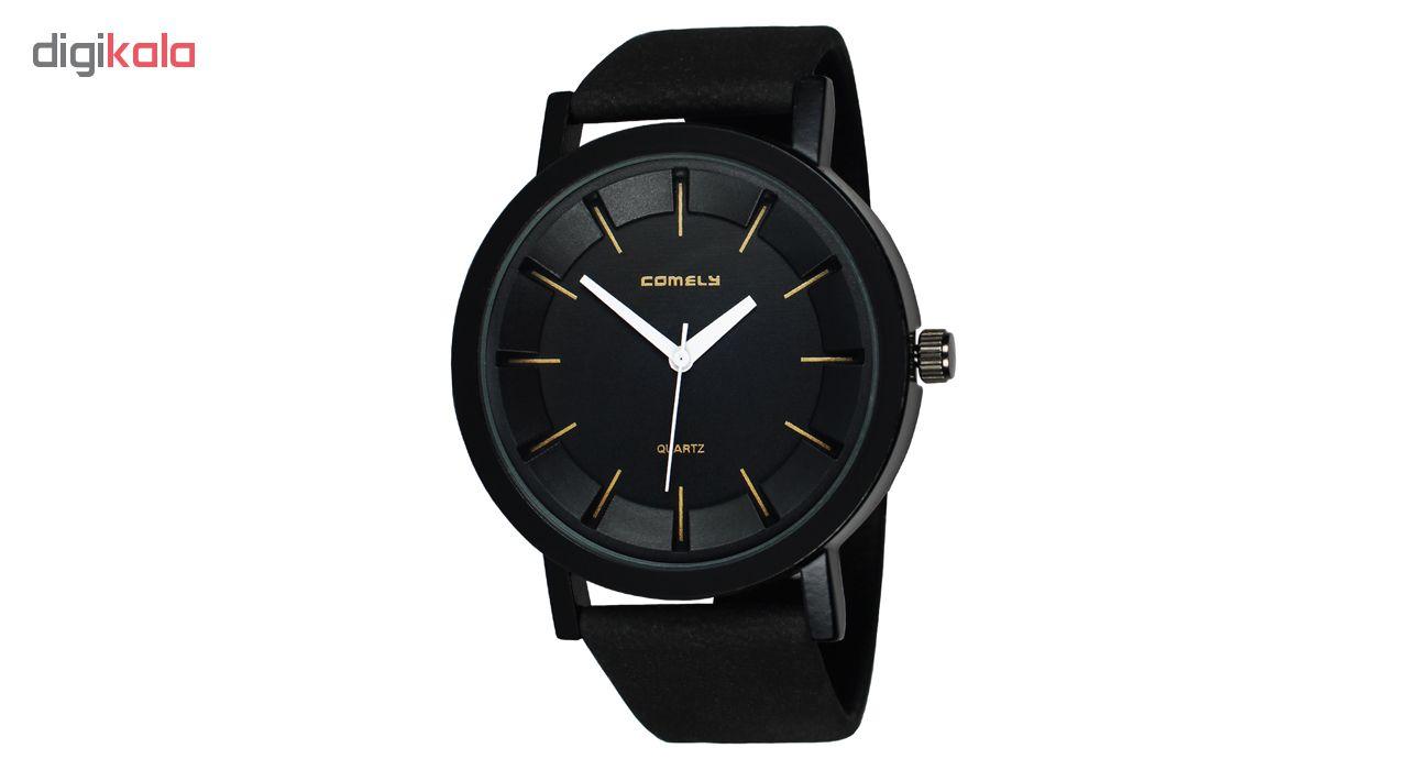 خرید ساعت مچی عقربه ای مردانه و زنانه کیملی مدل Com-01 | ساعت مچی
