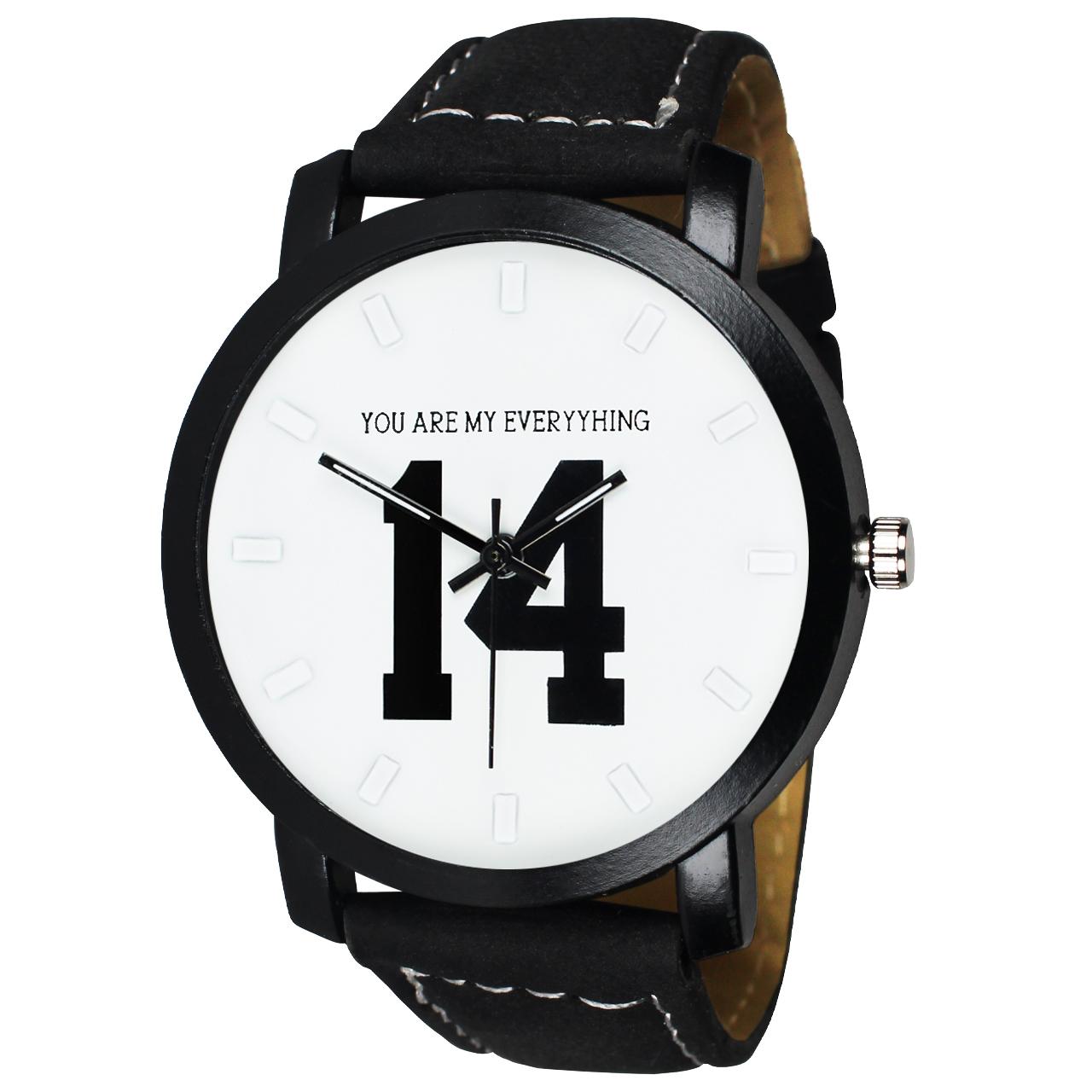 ساعت مچی عقربه ای زنانه و مردانه مدل V-04