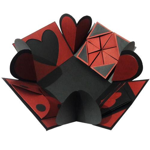 جعبه هدیه طرح سورپرایز کد 01