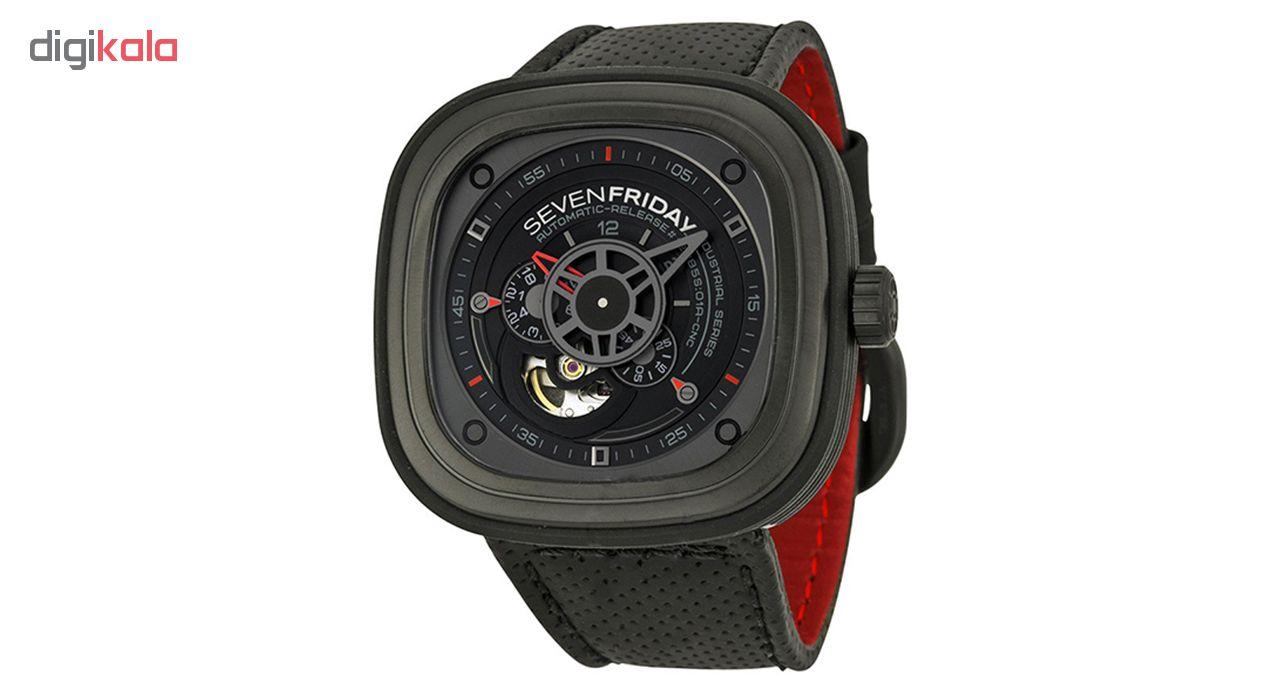خرید ساعت مچی عقربه ای مدل sf-Black P3-1