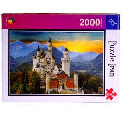 پازل 2000 تکه پازل ایران طرح  Neuschwanstein Castle