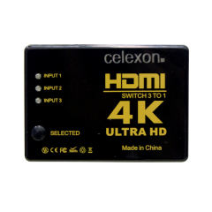 سوئیچ 1به 3 HDMI سلکسون مدل CC4K