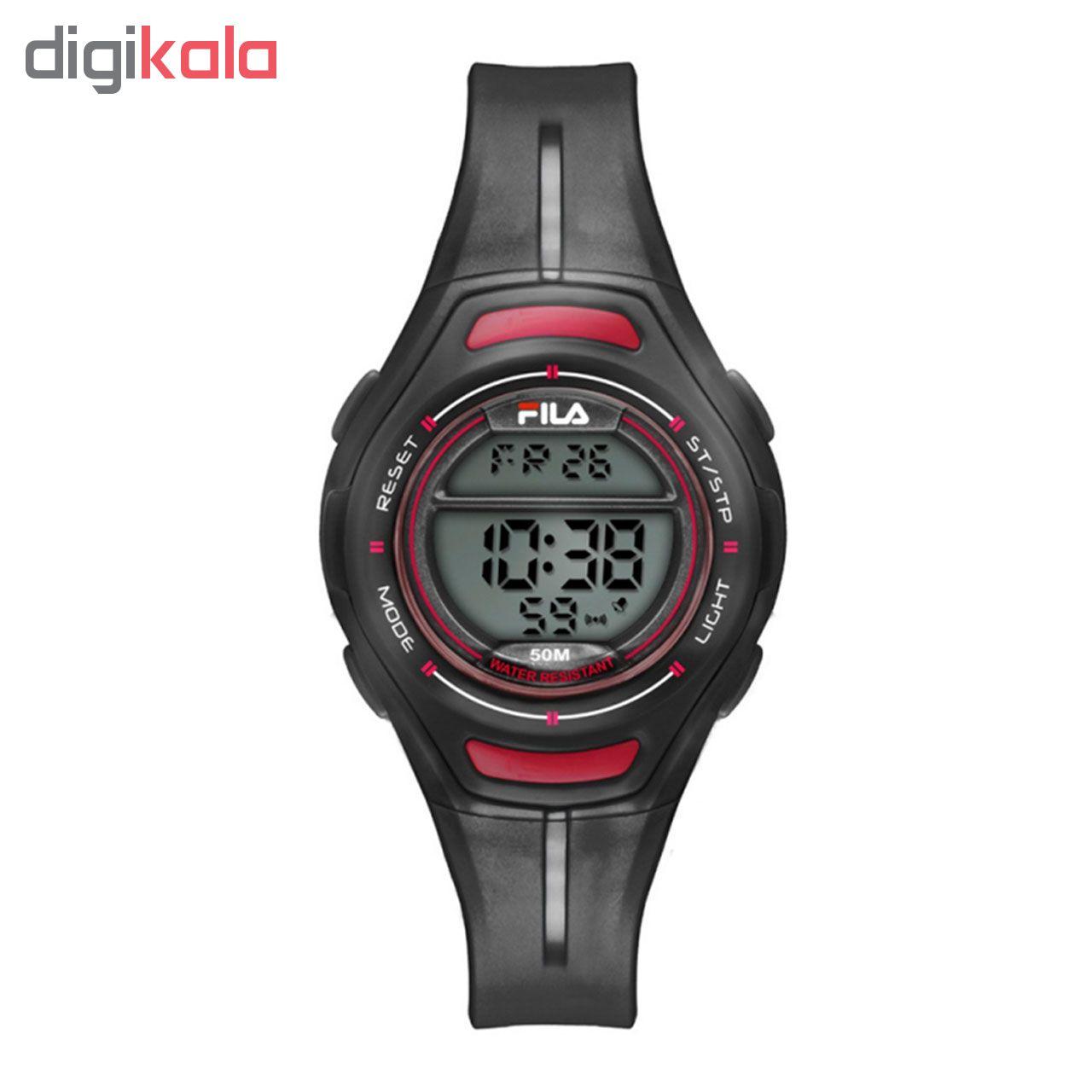 ساعت مچی دیجیتالی زنانه ی فیلا مدل 38-098-003