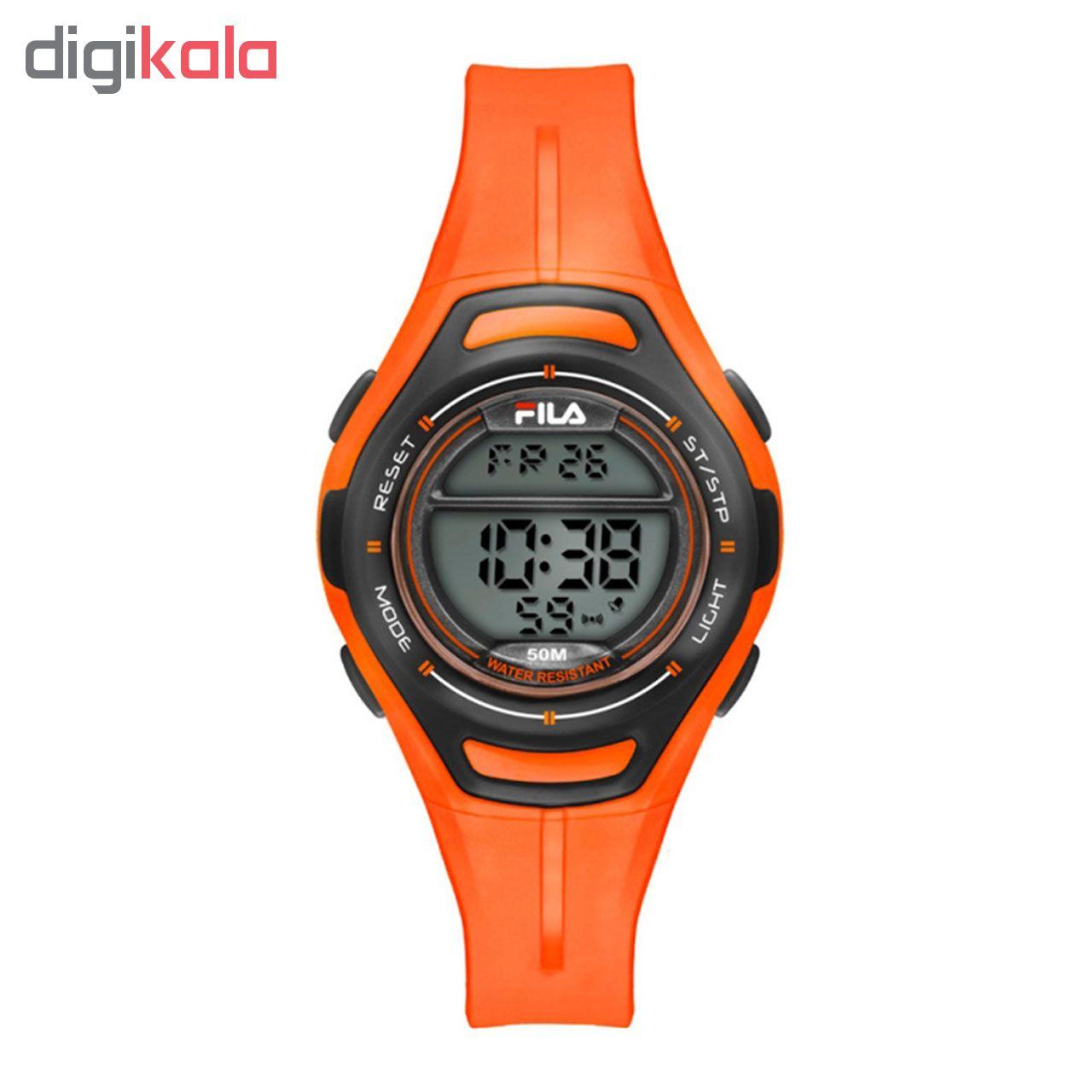 ساعت مچی دیجیتالی زنانه ی فیلا مدل 38-098-002