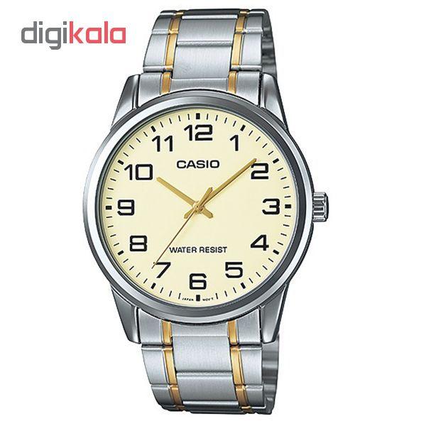 خرید ساعت مچی عقربه ای مردانه کاسیو مدل MTP-V001SG-9BUDF