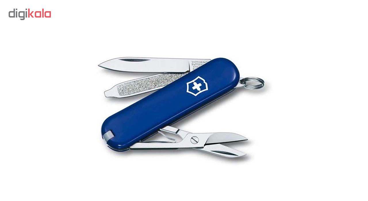 چاقوی ویکتورینوکس مدل Classic SD Blue 0.6223.2-012