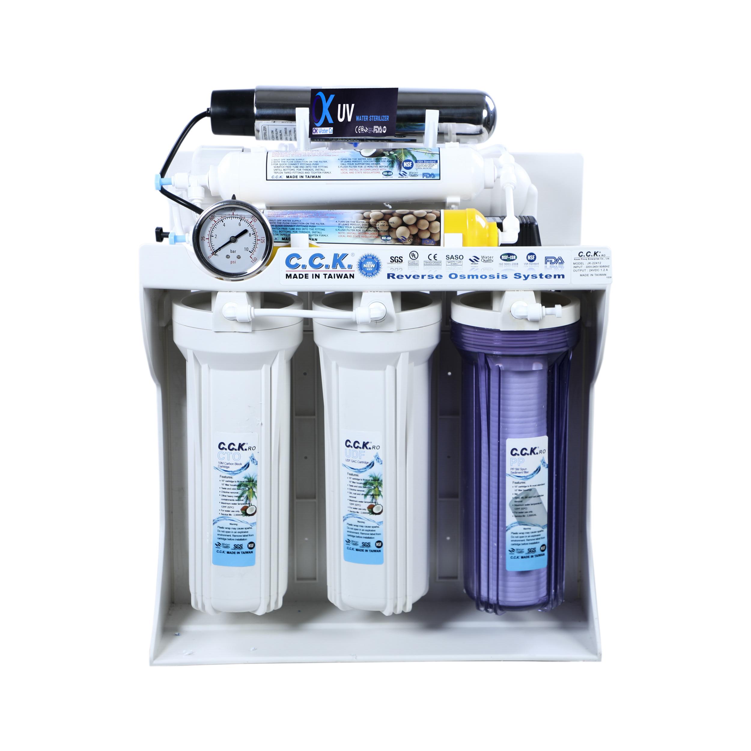 دستگاه تصفیه کننده آب خانگی سی سی کا مدل RO-03