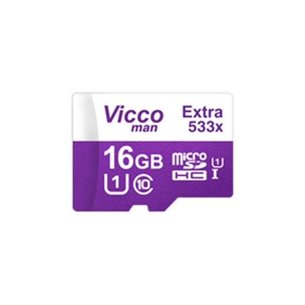 کارت حافظه microSDHC ویکومن مدل 320X کلاس 10 استاندارد UHS-I U1 سرعت 48MBps ظرفیت 16 گیگابایت