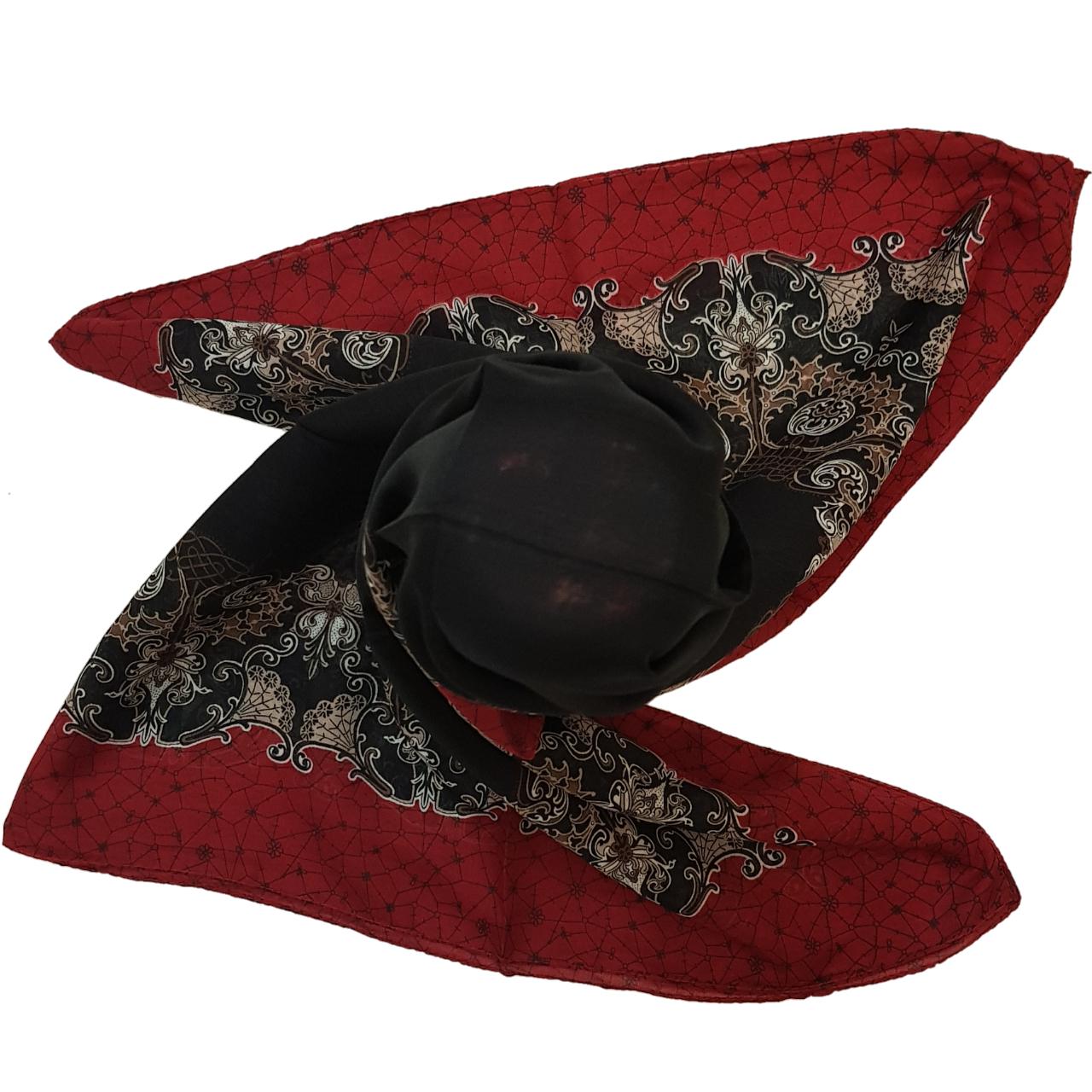 روسری ازگی طرح سنتی کد RM95172