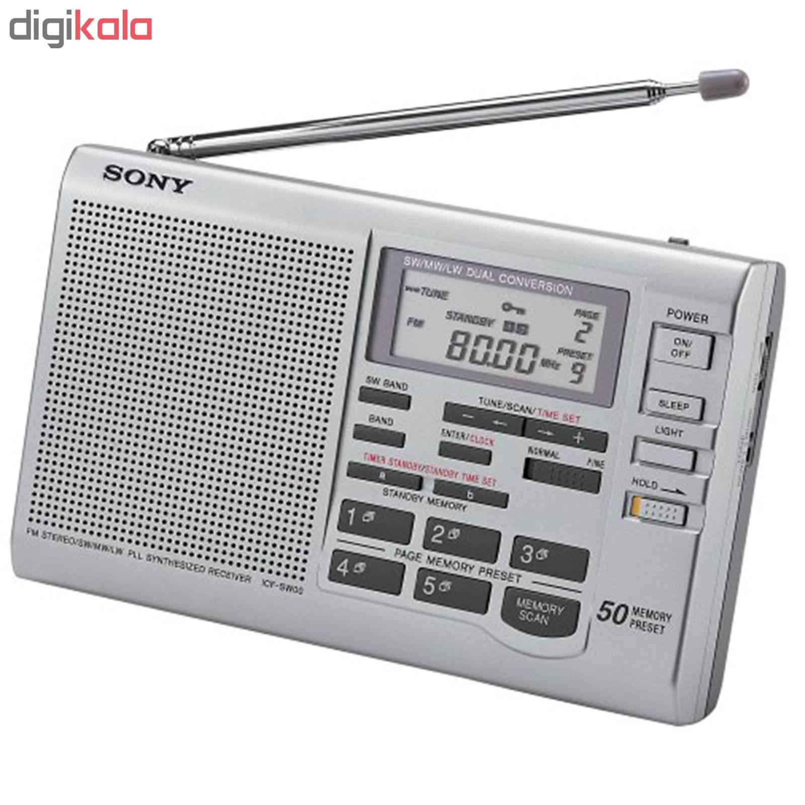 رادیو سونی مدل ICF-SW35 main 1 1