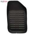 کفپوش سه بعدی چرمی ( پشت نمدی ) خودرو مناسب برای پژو 206 thumb 2