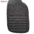 کفپوش سه بعدی چرمی ( پشت نمدی ) خودرو مناسب برای پژو 206 thumb 4